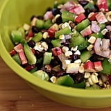 Corn, Radish, and Black Bean Salsa