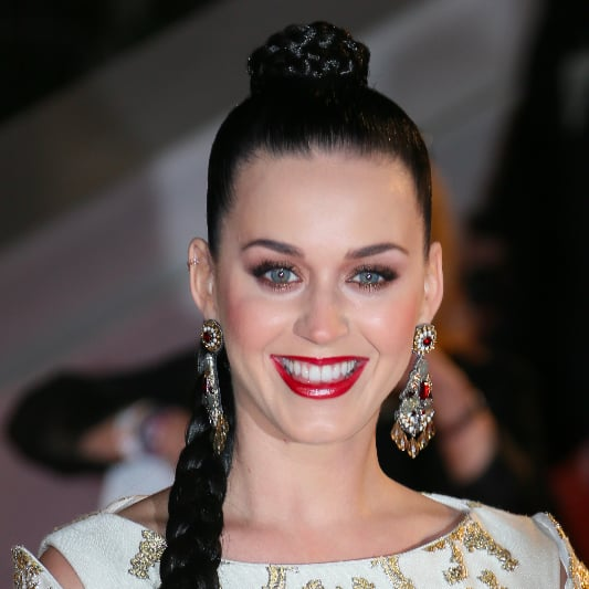 Katy Perry Braided Ponytail at 2013 NRJ Music Awards