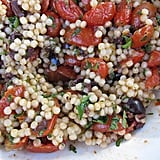 Pearl Couscous and Roasted Tomato Salad