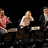 Jason Sudeikis, Greta Gerwig and Tom Cavanagh attended the Film Independent & New York Times live read of The Apartment in NYC.
