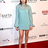 Hailee Steinfeld wowed in an Elie Saab mini at the BAFTAs.