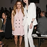 Alyssa Milano and Coco Rocha