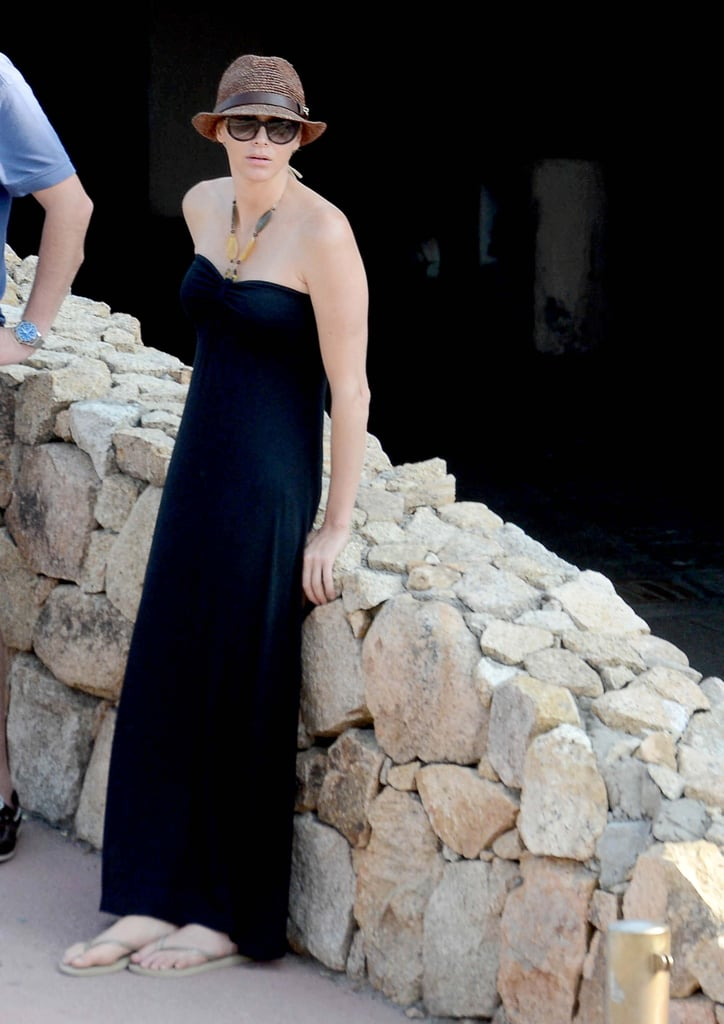 Princess Charlene of Monaco relaxed in Italy.