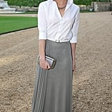 Emma Watson in Ralph Lauren at Prince William's Royal Marsden Dinner