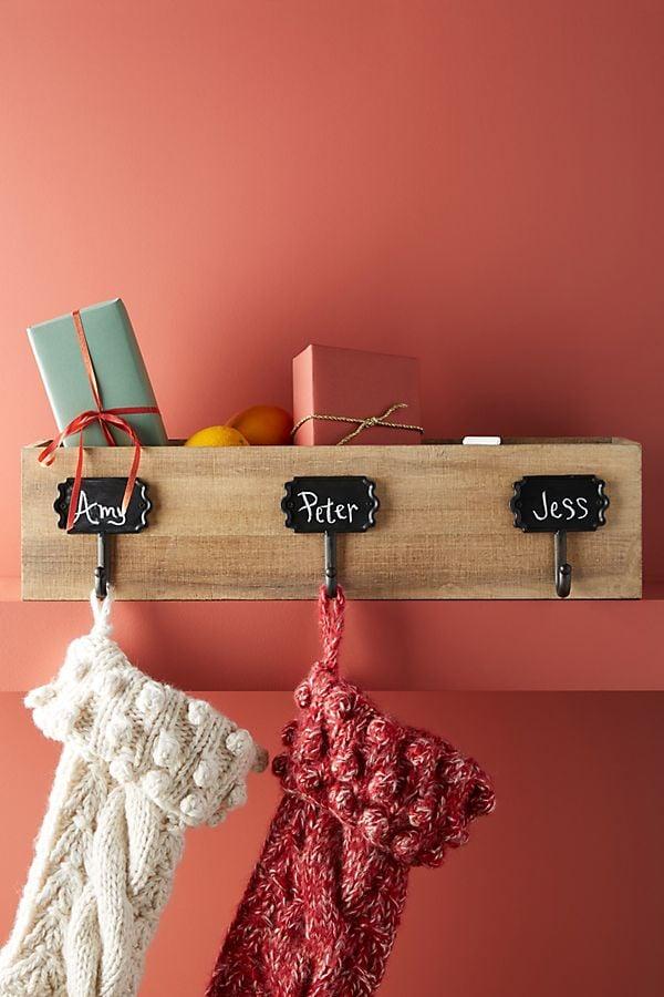Chalkboard Stocking Holder