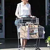Taylor Swift picked up groceries between her many projects.