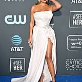 Chrissy Teigen at the 2019 Critics' Choice Awards