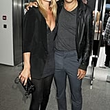 Kate Moss and Jamie Hince at White Cube.
