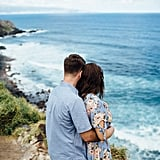 This Couple's Romantic Save-the-Date Photos in Hawaii Will Make You Want to Go ASAP