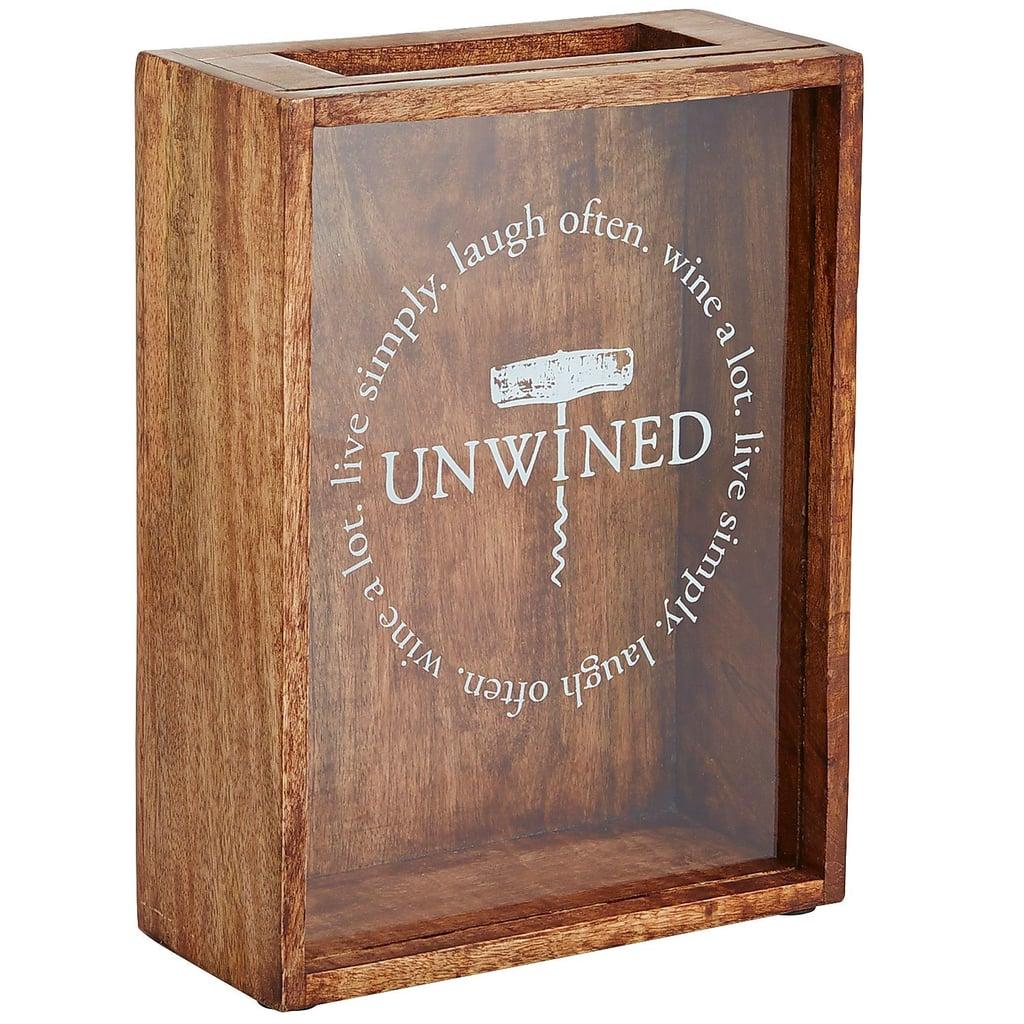 Cork Shadow Box