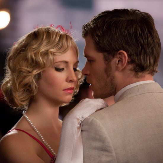 Caroline and Klaus on The Vampire Diaries