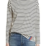 Kule The Boyfriend Stripe Cotton Tee
