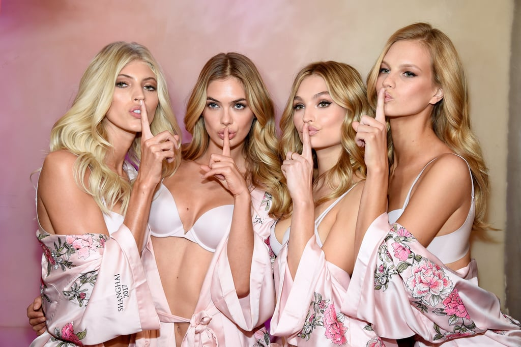 Forget the Runway, the Angels Had the Best Time Backstage