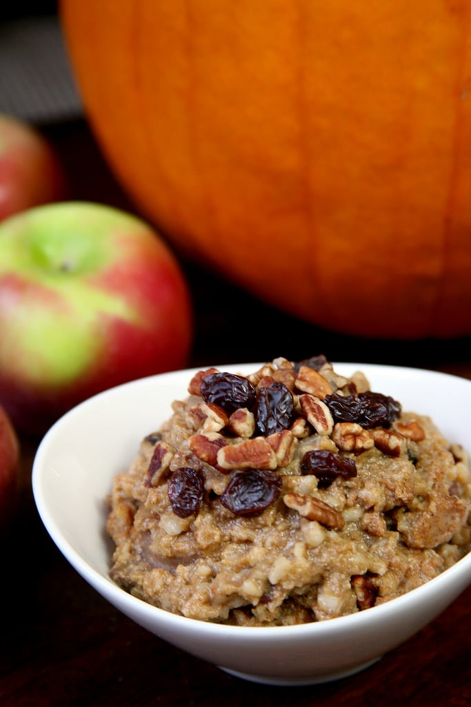 Slow-Cooker Pumpkin Pie Oatmeal
