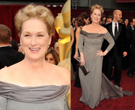 Oscars Red Carpet: Meryl Streep