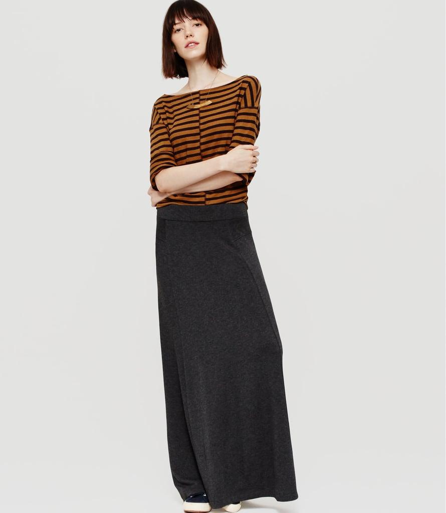 Lou & Grey Signaturesoft Maxi Skirt ($60)