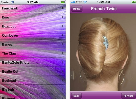 The Hairstyle Name IPhone App POPSUGAR Beauty - Girl hairstyle name list