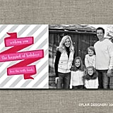 Merry Ribbons - Printable Photo Holiday Cards ($15 For Digital File)