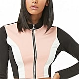 Forever 21 Colorblock Crop Top
