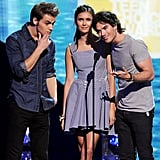When They Goofed Off on Stage Together and Made Nina Dobrev Feel Like a Third Wheel