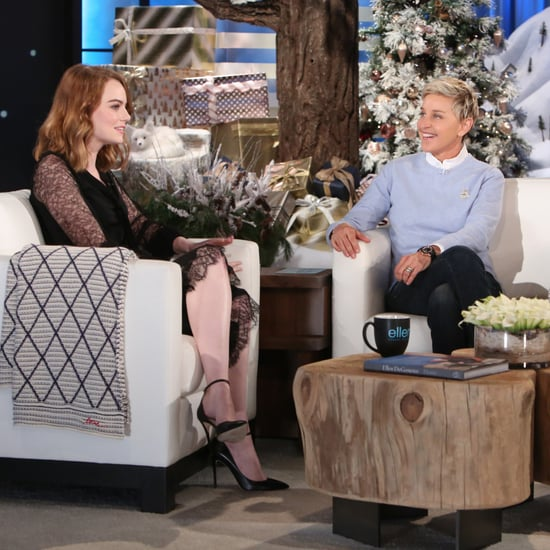 Emma Stone on The Ellen DeGeneres Show November 2016