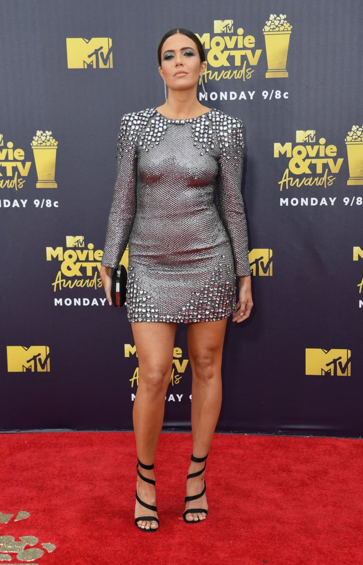 Mandy Moore Mtv Movie And Tv Awards Red Carpet Dresses