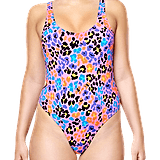 Happy Socks Leopard Swimsuit