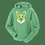 مع انخفاض درجات الحرارة في فصل الخريف، من الضروريّ أن يكون لديكم في الخزانة كنزة كورغي هودي جديدة Corgi hoodie (بسعر 44$ دولار دولار أمريكي؛ 162 درهم إماراتيّ/ريال سعودي) للأيّام الباردة. لدى علامة Golden Doodle مجموعة من كنزات الهودي للاختيار من بينها، والتي تتزيّن بباقة كبيرة من سلالات الكلاب المختلفة. يمكنكم انتقاء واحدة تتناسب مع الجرو الموجود عندكم في المنزل، أو تستطيعون شراء أُخرى تُطابق نوع الكلب الذي ترغبون بتبنّيه في مرحلةٍ ما مستقبلاً.