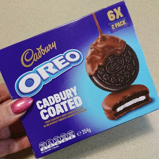 Chocolate Cadbury Coated Oreos