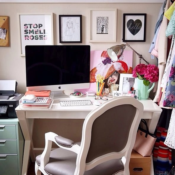 Teen Desk Organization Inspiration