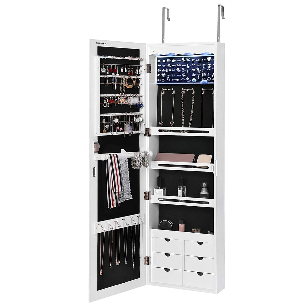 Songmics LED Jewelry Cabinet