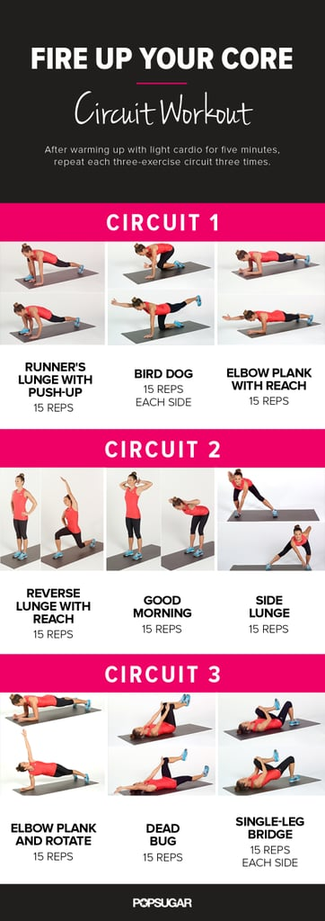 At-Home Workouts: Cardio and Strength Training | POPSUGAR Fitness