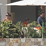 Stacy Keibler and Cindy Crawford Wear Bikinis For a Cabo Turkey Day With George and Randy