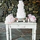Delicate Flower Cake