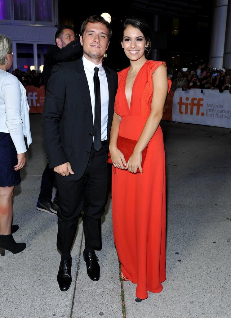 Josh Hutcherson and girlfriend Claudia Traisac made a ...