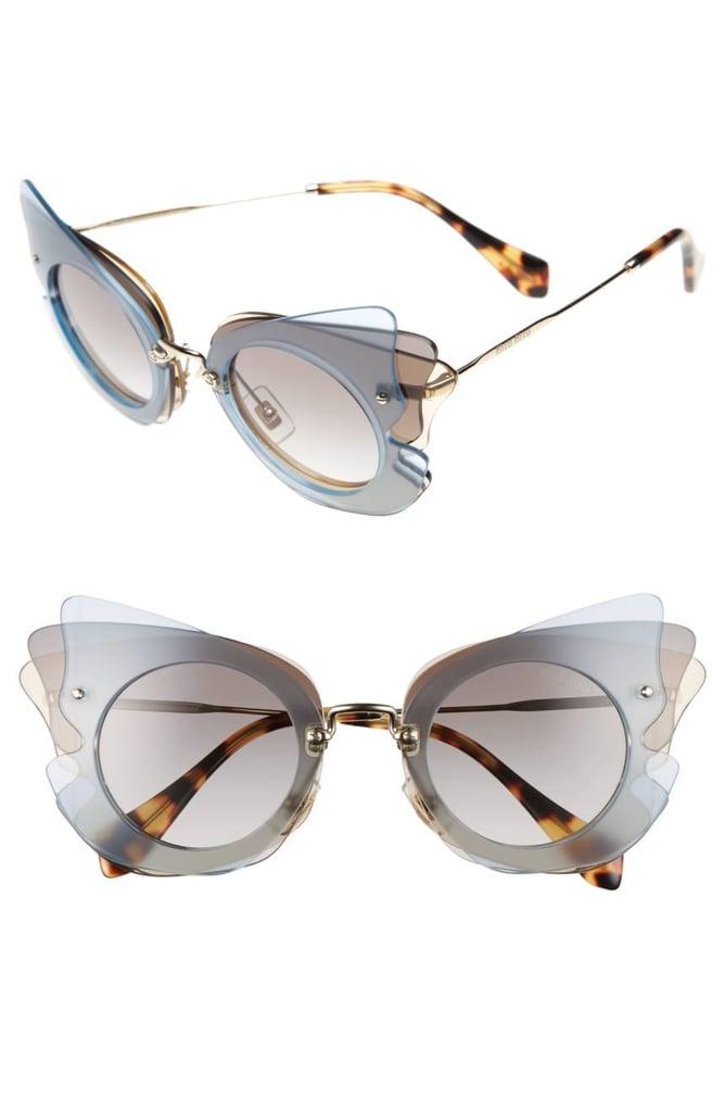 753a79d283 Miu Miu Butterfly Sunglasses