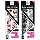 ncla has mastered the art of nail wraps and itu0027s come up with two festive