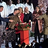 Alec Baldwin's Daughter at NYC Christmas Tree Lighting 2016