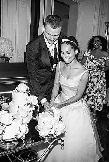 Zoe Kravitz Wedding Dress