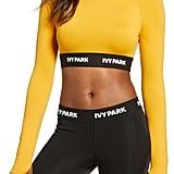 IVY PARK Logo Tape Crop Top