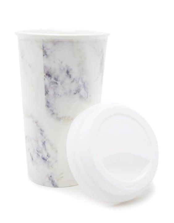 Marble Ceramic To-Go Mug