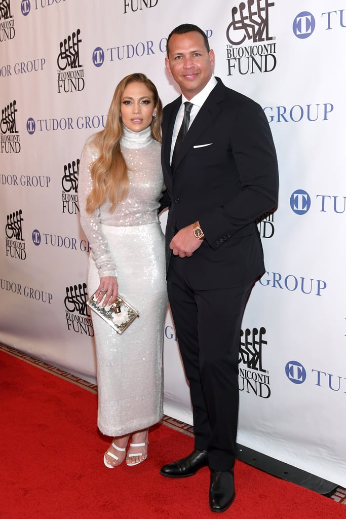 She Looked All Loved Up on the Red Carpet Next to ARod
