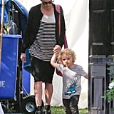 Jessica Simpson Gets a Leg Up on a Family Weekend by Spending Time With Ashlee, Bronx, and Eric