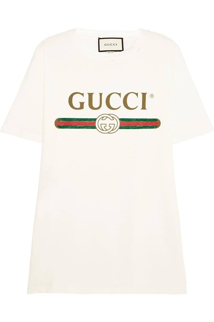 Gucci Vintage T-Shirt Trend | POPSUGAR Fashion