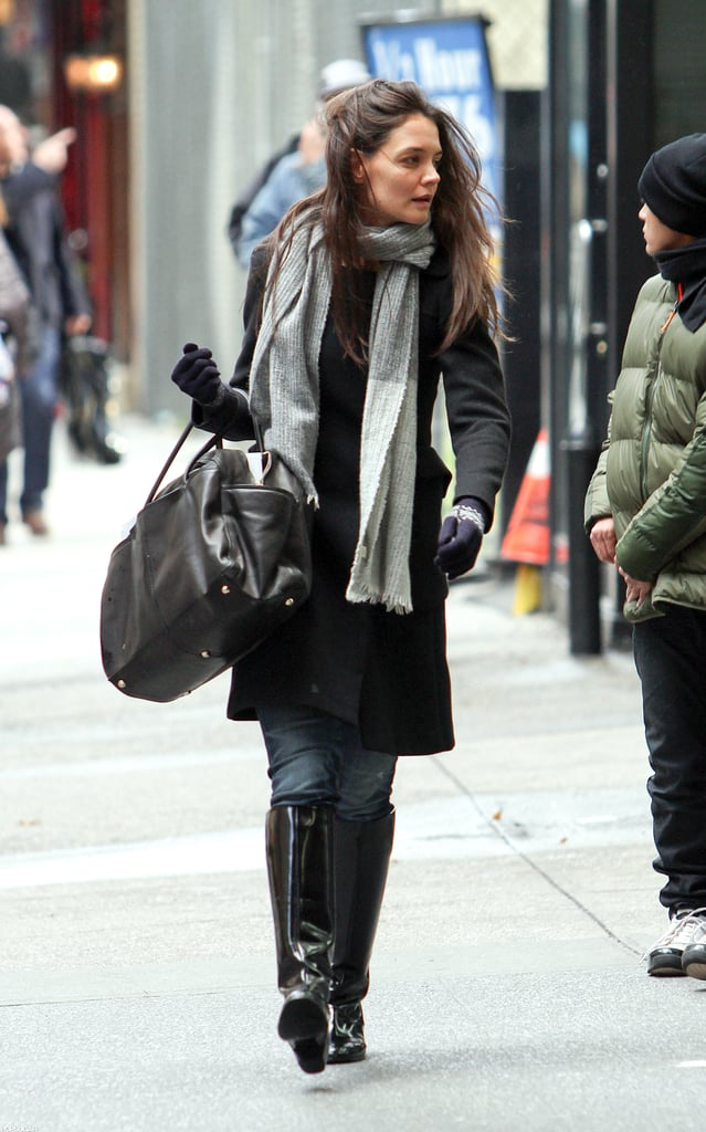 Katie Holmes was out in NYC.