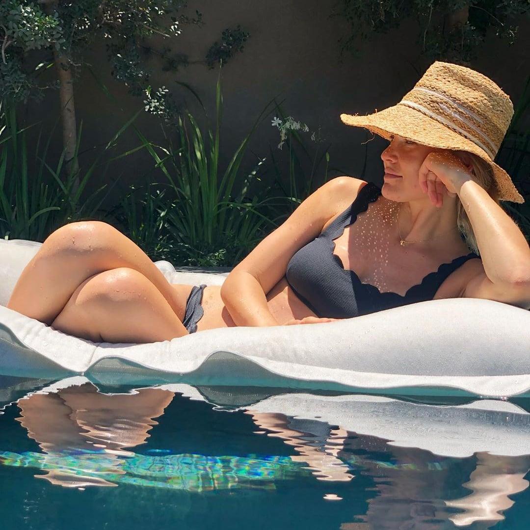 Scalloped Edge Bikini Swimsuit Trend   POPSUGAR Fashion UK