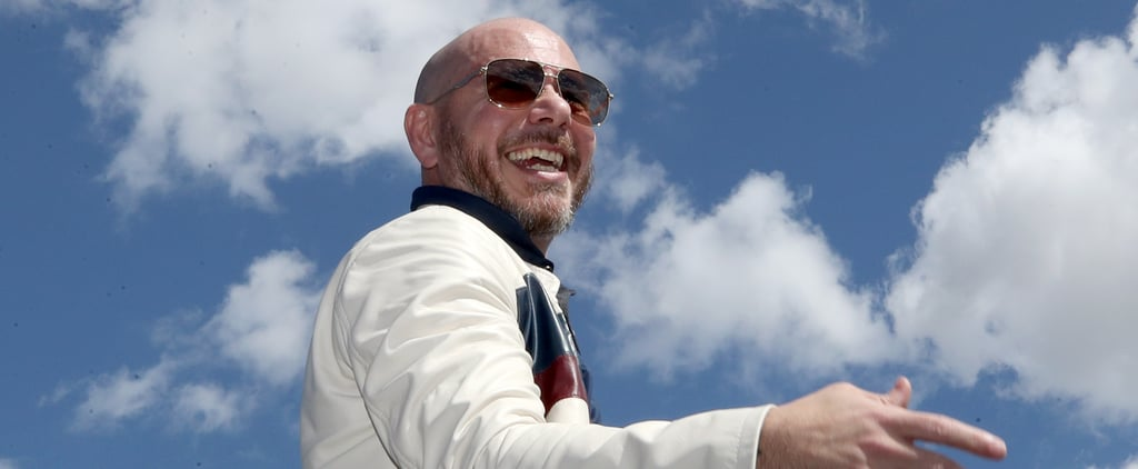 "Pitbull Releases ""I Believe That We Will Win"""