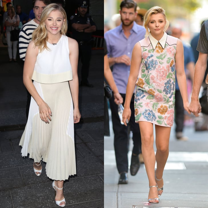Chloë Grace Moretz Hit Us With a Fashion Double Whammy