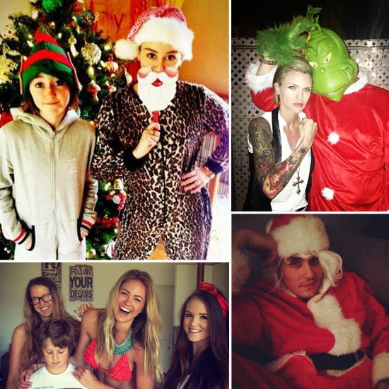 See How Stars Celebrated Christmas