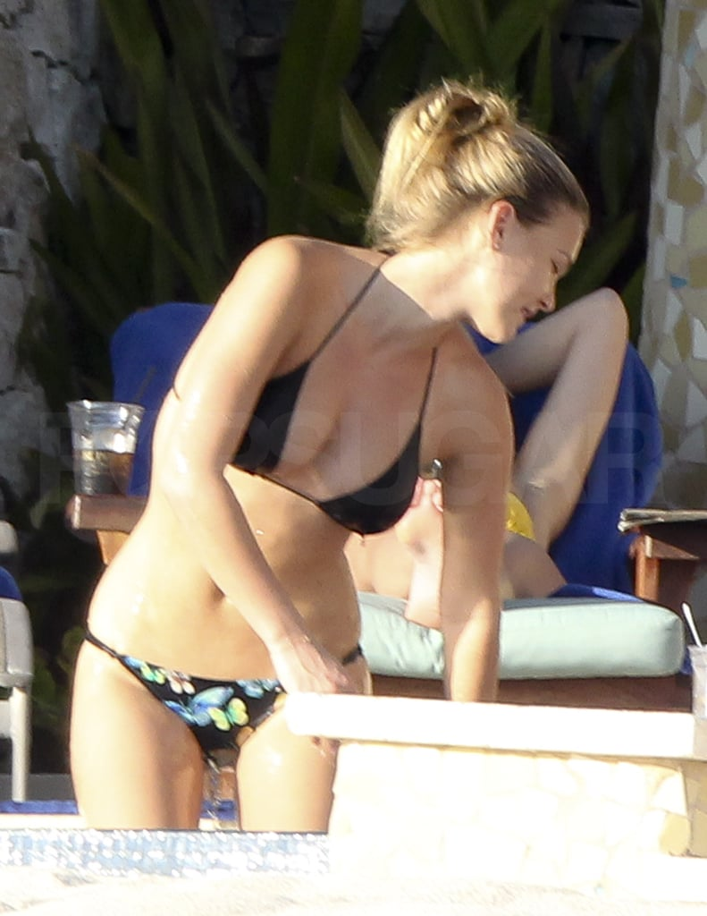 Bar Refaeli Wears Butterflies on Her Bikini Bottoms During Another Day in the Cabo Sun